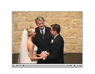 Click to watch a Wedding Webcast demo!